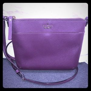 Kate Spade Crossbody Bag Deep Purple